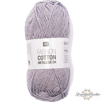 Rico Design Fashion Cotton Métallisé 50g 130m amethyst
