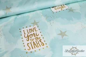 "Patchwork ""You are magic"" mint by Sarah Jane"