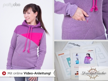"Freestyle Hoodie ""Nelly"" von pattydoo"