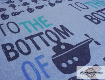 "Jersey ""to the bootom of the sea"" - Rapport 50cm"