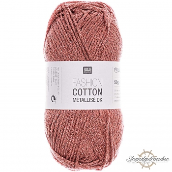 Rico Design Fashion Cotton Métallisé 50g 130m rubin