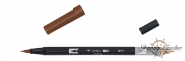 TOMBOW Brush Pen ABT-899 redwood